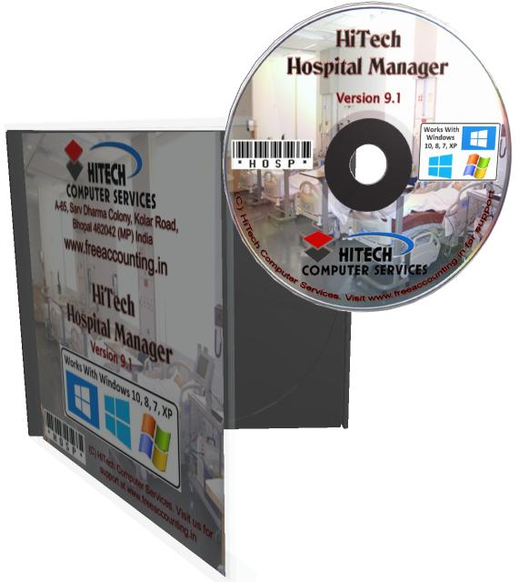 Hospital Accounting Software CD Case