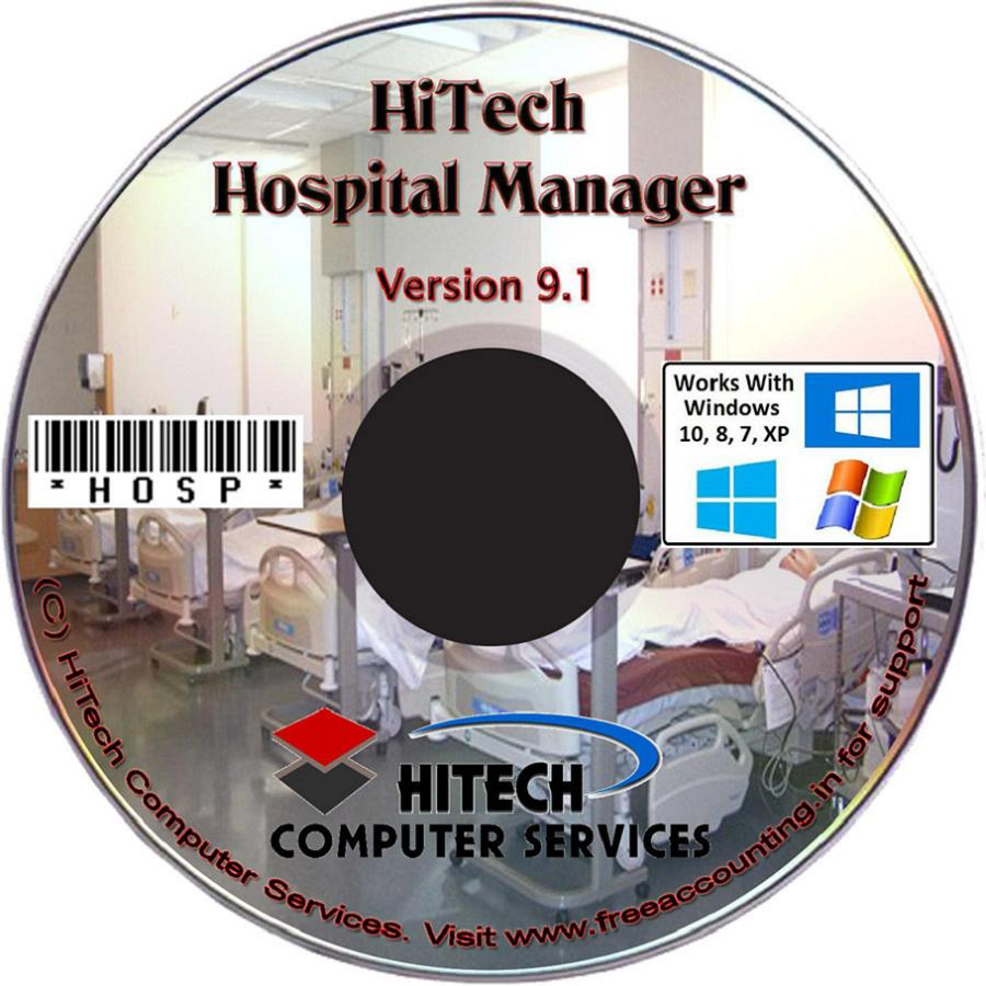 Hospital Accounting Software CD